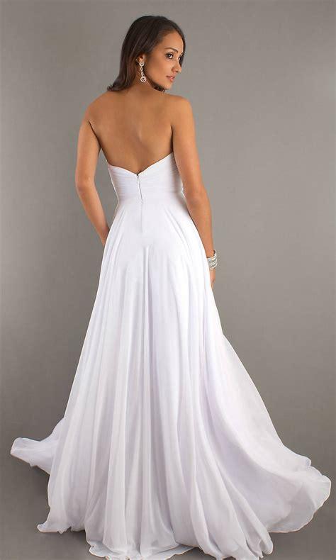 Longdress White guidelines for white dress