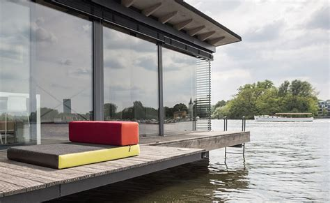 modern house boats modern houseboat by welcome beyond thecoolist the