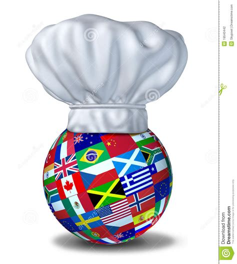 global cuisine international cuisine stock photography image 19540442
