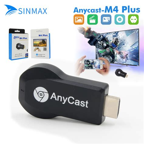 Anycast M4 Plus Portable Wifi Display Miracast Airplay Hdmi Receiver Buy Anycast M4 Plus Deals For Only Rp325 000 Instead Of