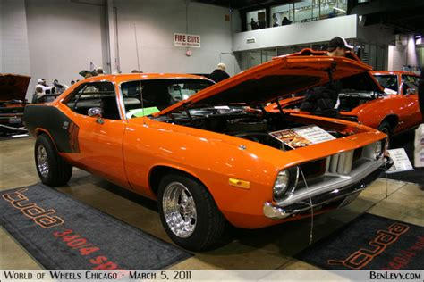 Orange 1973 ?Cuda 340 BenLevy.com