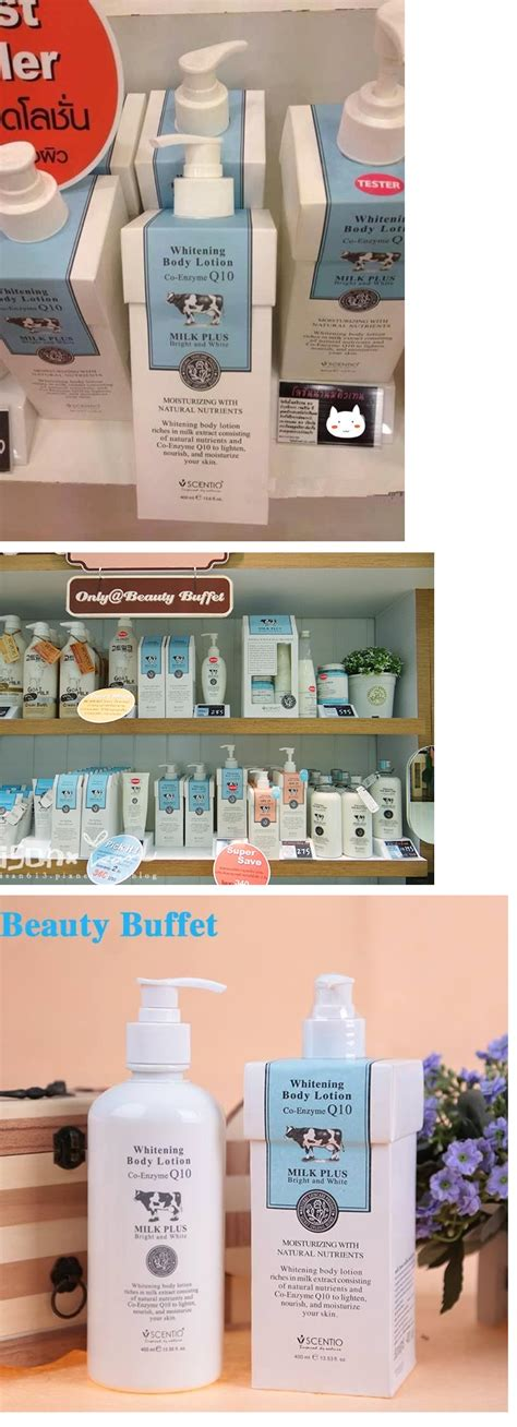 Scentio Milk Plus Lotion By Buffet Mp Scentio Buffet Milk Plus Whitening Q10 Lotion