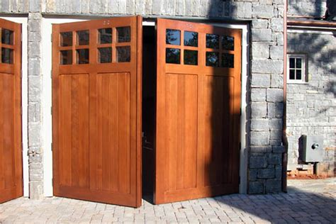 swing out carriage doors carriage wooden garage doors by carriage house door company