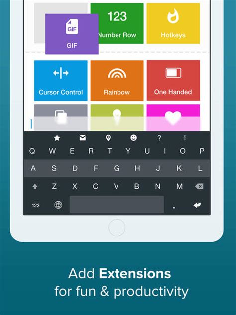 keyboard extension tutorial ios fleksy keyboard extension for ios is now free iclarified