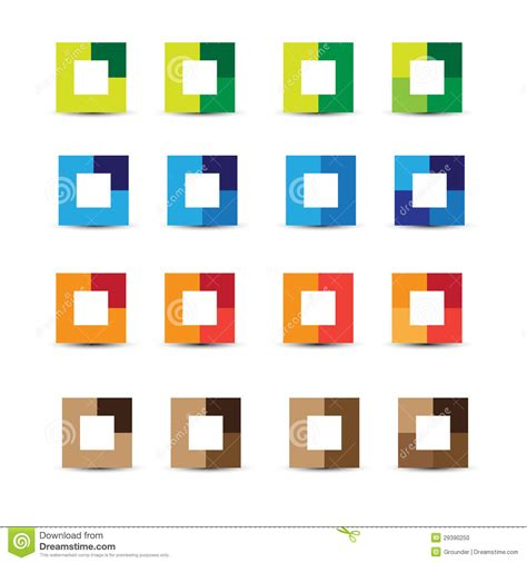 design elements square abstract design elements square stock photo image 29390250
