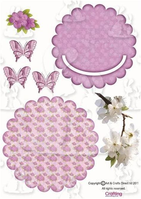 Decoupage Templates - 17 best images about 3 d cards on