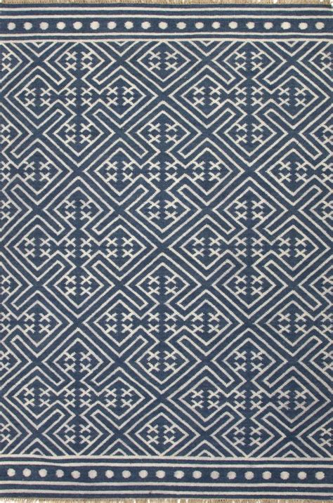 white flat woven rug rugstudio presents jaipur rugs batik lahu bat03 indigo blue floral white flat woven area rug a