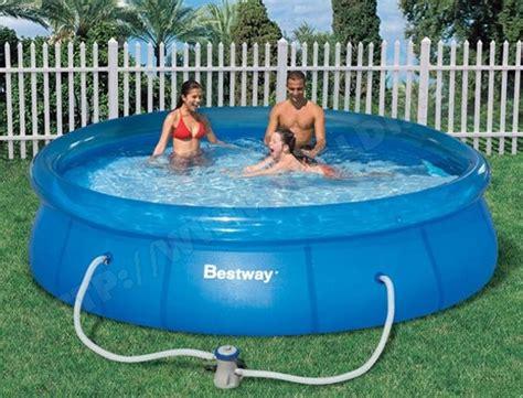 best way piscine piscine bestway fast set pool 366x76 57074 pas cher