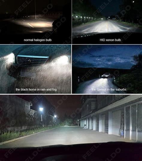 H4 12v Led 6000k 1set feeldo car accessories official store 1set 35w dc12v car