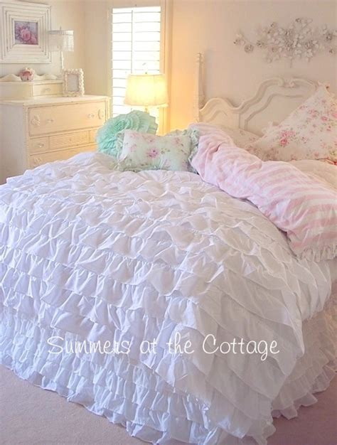 white ruffle twin comforter new twin white ruffle bedding homekeep xyz