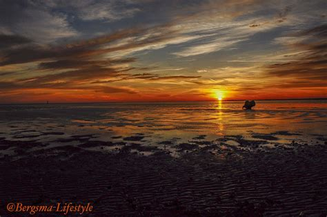 retourtje boot ameland zonsondergang op ameland bergsma lifestyle blog
