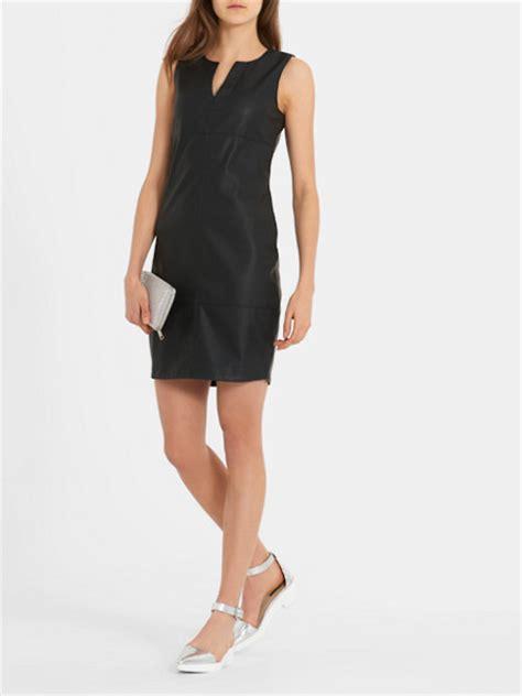 cos jurken zwart shift jurk zwart costes fashion