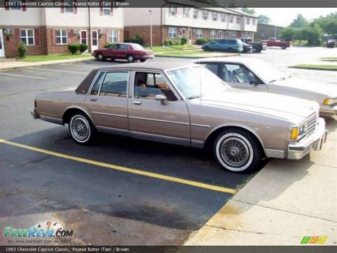 my 1983 caprice classic 1983 chevrolet caprice classic information and photos momentcar
