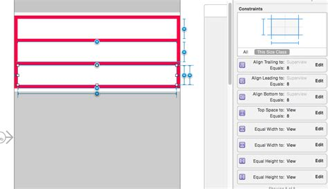 yii2 set layout variable ios how to set layout constraints for variable hight