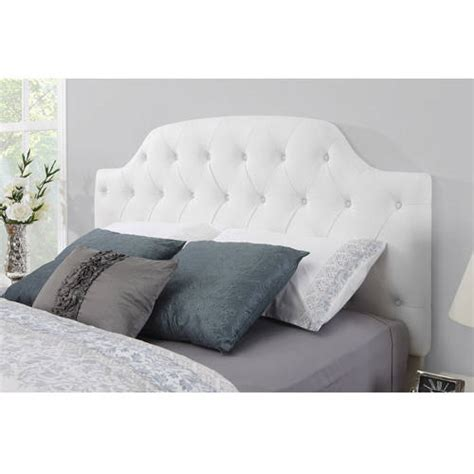 white leather tufted headboard full queen size white leather tufted bedroom headboard