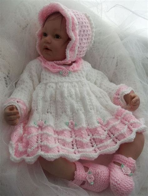 knitting patterns for baby dolls tipeetoes handmade knitted baby wear baby reborn doll