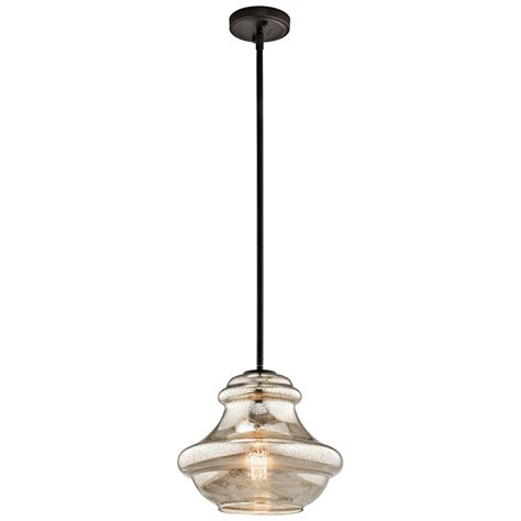 Kichler Lighting Sale Kichler Everly Olde Bronze One Light Pendant On Sale