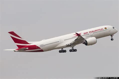 le 1er a350 air mauritius effectue premier vol aaf actualit 233 a 233 ronautique francophone