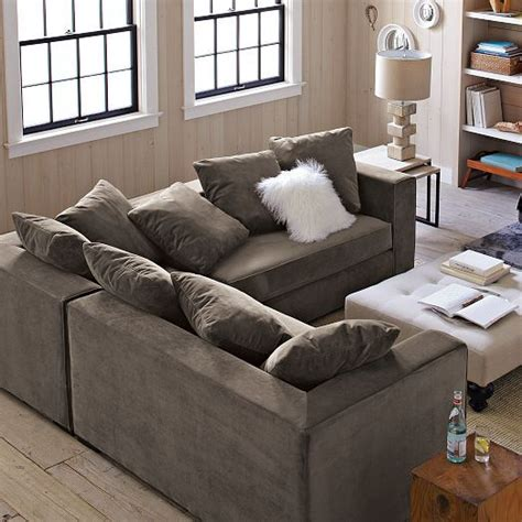 west elm sectional sofa gray products and couch on pinterest