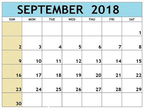 september 2018 calendar with holidays uk monthly printable calendar
