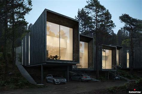 home concept design s rl forest house concept by imola