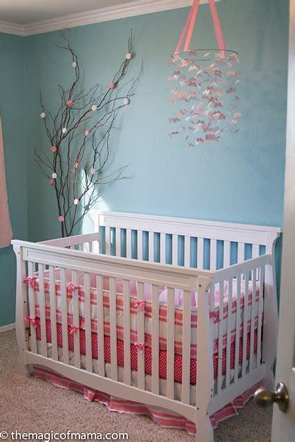 kinderzimmer blau rosa gorgeous blue and pink nursery baby