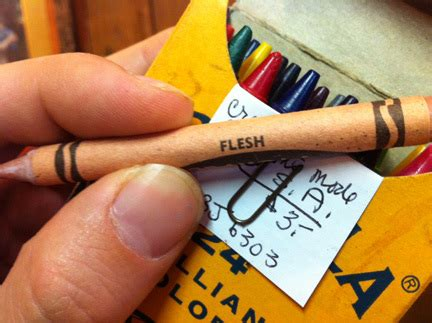 flesh colored crayon ye olde blogge the way of all flesh crayons