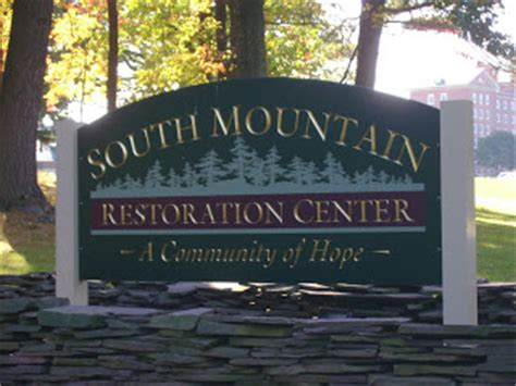 south mountain restoration center a history a place of