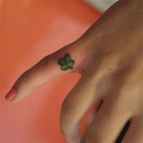 30 cute four leaf clover tattoos hative