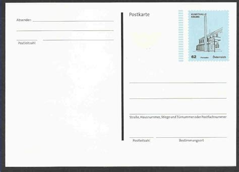 Postkarten Drucken Innsbruck by Postkarte Und Ganzsachenumschl 228 Ge Quot Kunsth 228 User Quot