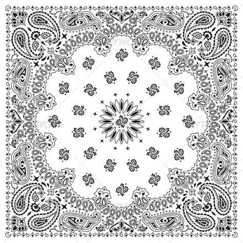 bandana pattern drawing bandana design template 187 dondrup com