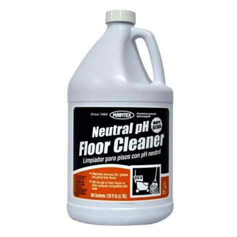 maintex concentrated neutral floor cleaner of 4