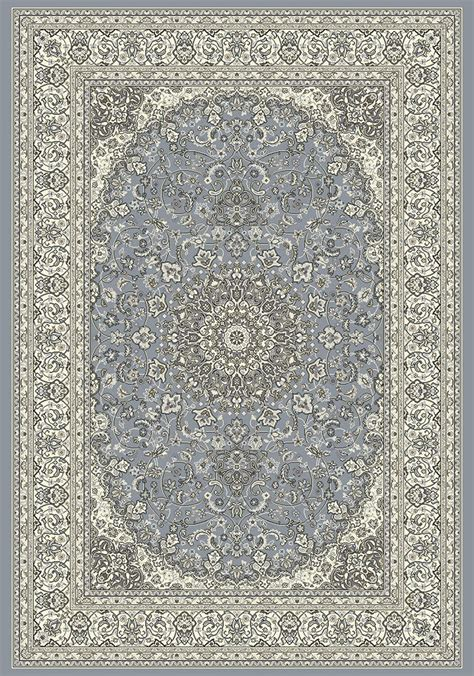 Ancient Rugs by Ancient Garden 57119 4646 Steel Blue Area Rug By