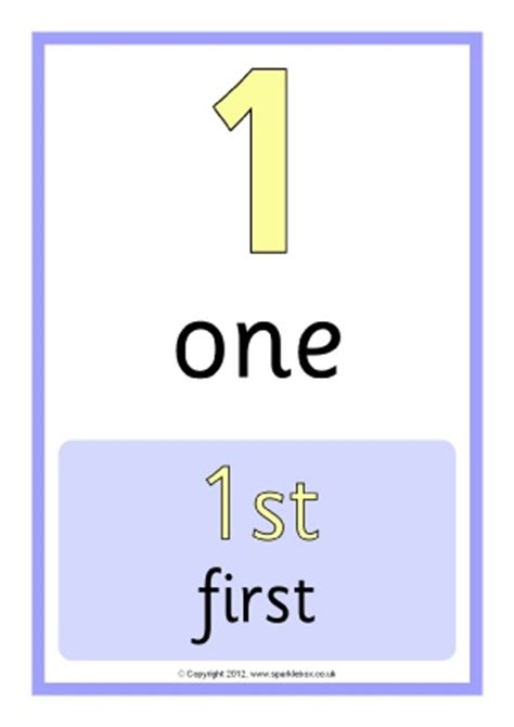 free printable ordinal number cards free worksheets 187 ordinal numbers 1 20 free math
