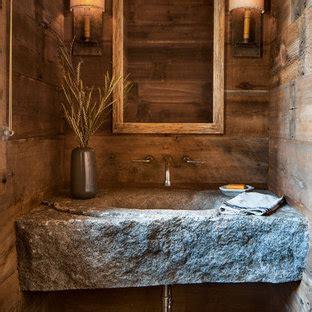 popular rustic powder room design ideas