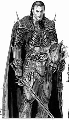 Male Vrykyl (Evil Knight) with Sword