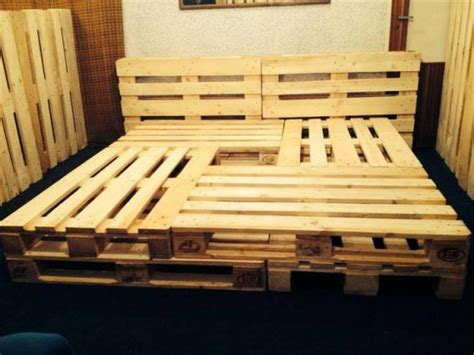 how to make a size bed frame pallet beds and bed frames ideas