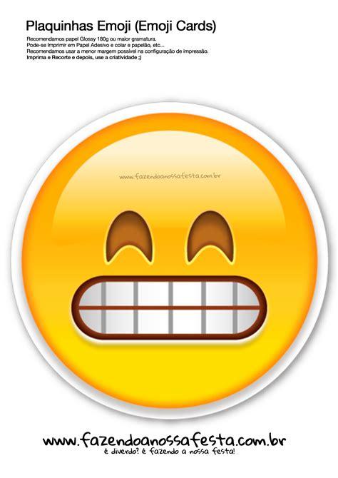 imagenes emoji whatsapp plaquinhas emojis 102 emoji card fazendo a nossa festa