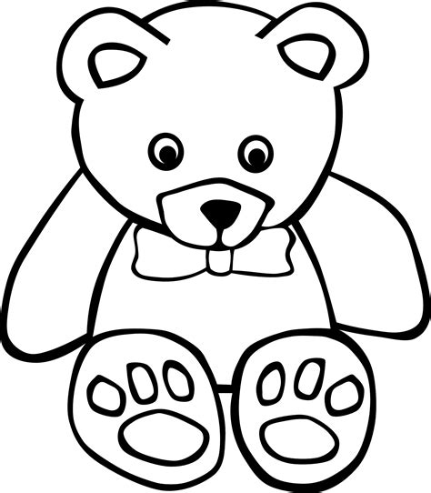 coloring pages printable teddy bear free printable teddy bear coloring pages for kids
