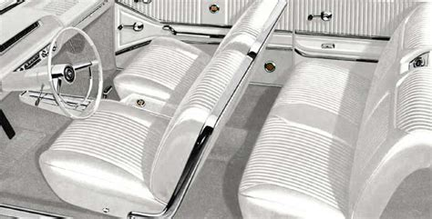 1964 Impala Interior Kit by 1964 Chevrolet Impala Parts Interior Soft Goods Seat