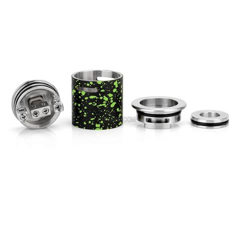 Vaporvape Sapor V2 22mm Rda Atomizer Black Authentic authentic wotofo sapor black green 22mm stainless steel