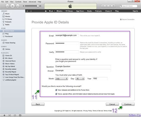 Search Apple Id By Email How To Create A New Apple Id In Itunes For Free Whiteout Giving Your Credit Or Debit