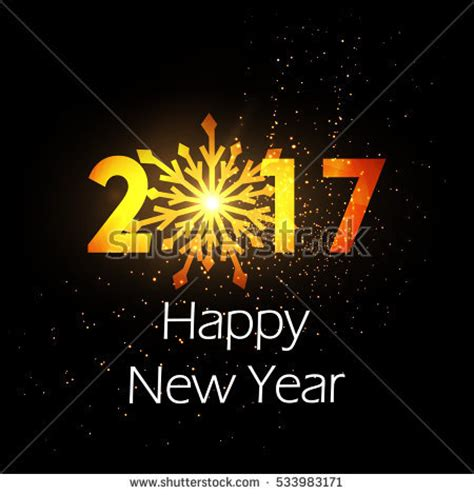 new year is based on creative abstract line based vector stock vector