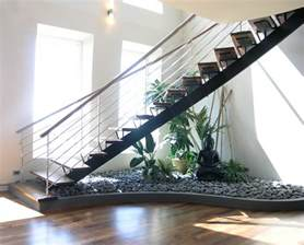 Below Stairs Design How To Make A Small Pebble Garden The Stairs