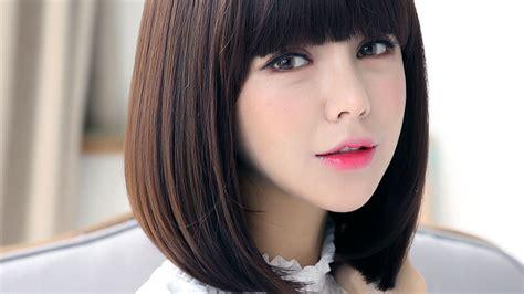 update tips gaya rambut lurus sebahu ala wanita korea