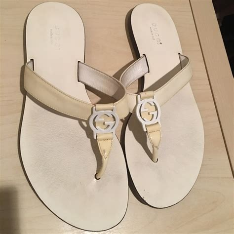 Gucci Flats Shoes 6 86 gucci shoes white gucci flats with box size 6 5