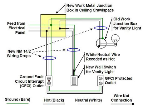 basement wiring diagram how to finish a basement bathroom ceiling junction box wiring