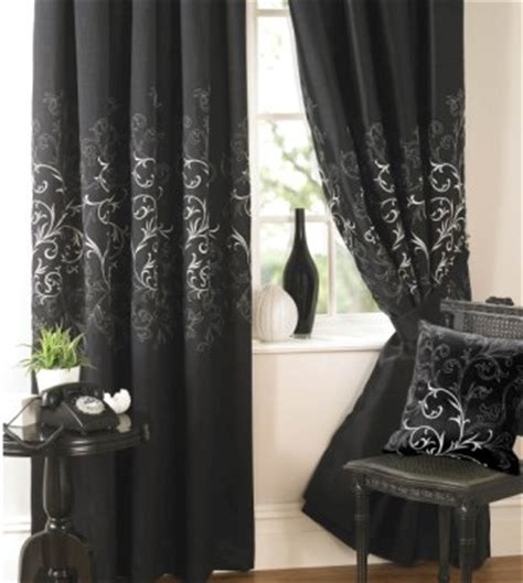 Black Window Curtains 4 Kinds Of Black Window Curtains