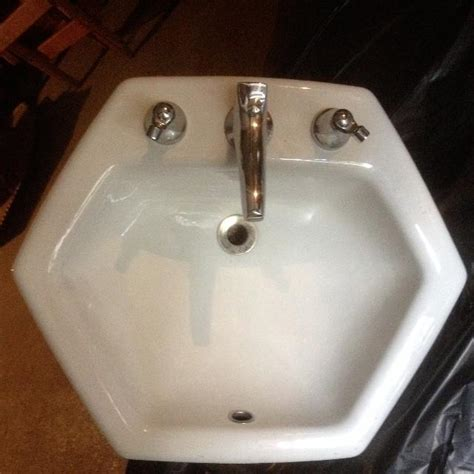 hexagon bathroom sink hexagon shaped bathroom sinks simple vintage bathroom