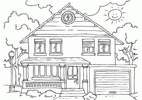 Full House Coloring Pages To Print Coloring Home Print Your Color L